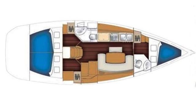 Location yacht à Palma de Majorque - Bénéteau Cyclades 39 sur SamBoat