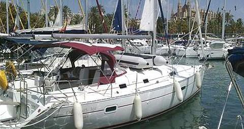 Location bateau Bénéteau Oceanis 361 à Palma de Majorque sur Samboat