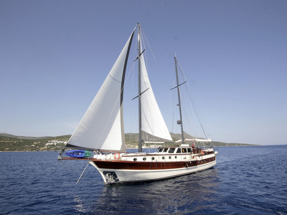 Location bateau Bodrum pas cher Gulet Zeynos