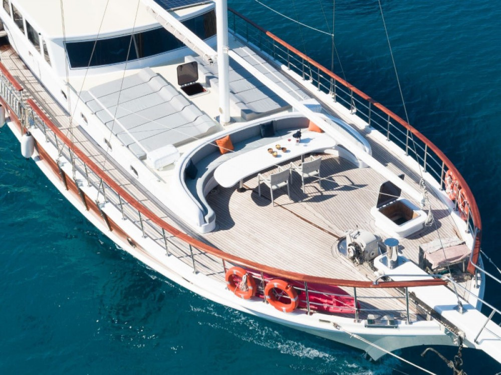 Location bateau Marmaris pas cher Gulet Koray Ege