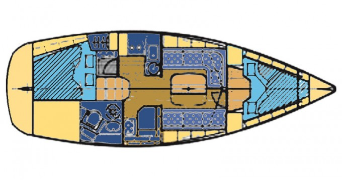 Location bateau Bavaria BAVARIA 33 C  à Sukošan sur Samboat