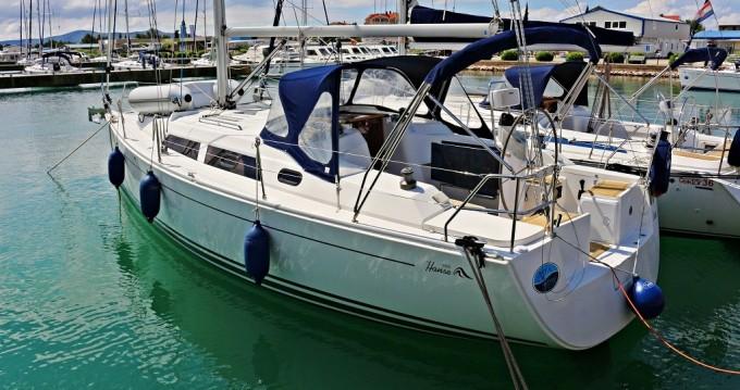 Location bateau Sukošan pas cher Hanse 350