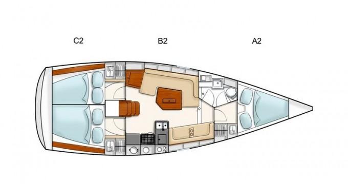 Location bateau Hanse Hanse 350 à Sukošan sur Samboat
