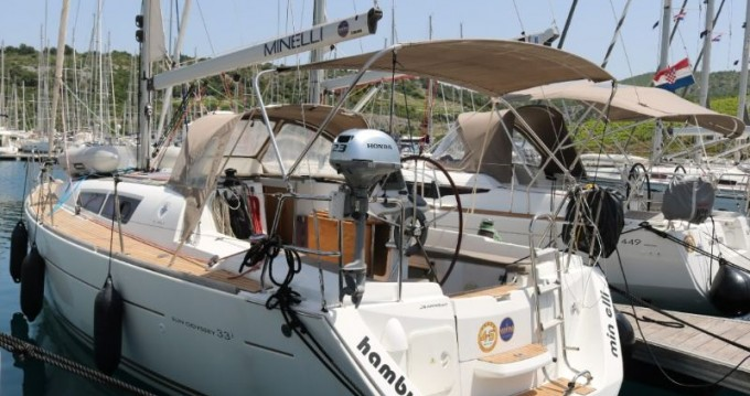 Location bateau Trogir pas cher Sun Odyssey 33i