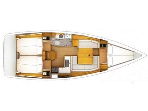 Location bateau Jeanneau Sun Odyssey 379 à Trogir sur Samboat