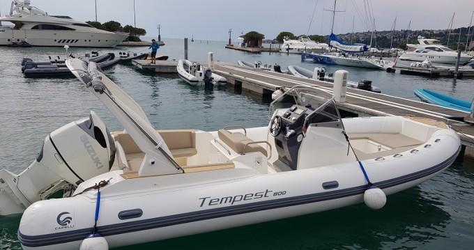 Location bateau Sukošan pas cher TEMPEST 800 + Suzuki 350
