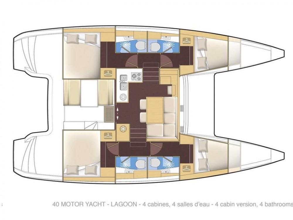 Location bateau Rogoznica pas cher Lagoon 40
