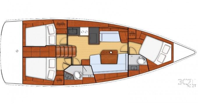 Location bateau Bénéteau Beneteau - Oceanis 41.1 à Athènes sur Samboat