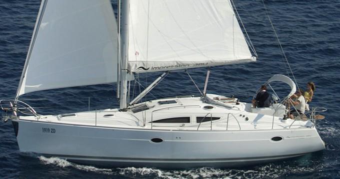 Location yacht à Baška Voda - Elan Impression 384 sur SamBoat