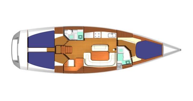 Location bateau Salivoli pas cher Dufour 425