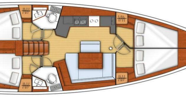 Location yacht à Dubrovnik - Bénéteau Oceanis 45 sur SamBoat