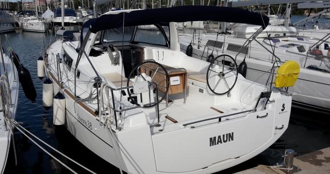 Location yacht à Kaštel Gomilica - Bénéteau Oceanis 38 sur SamBoat