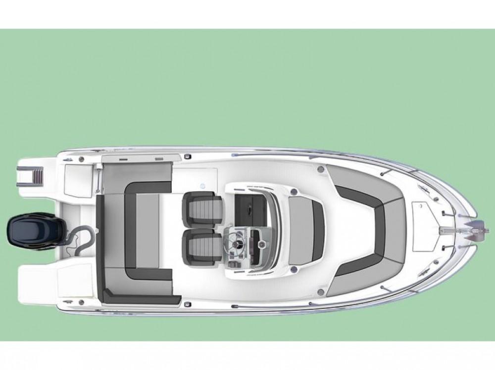 Location bateau Pula pas cher Jeanneau Cap Camarat 6.5 CC