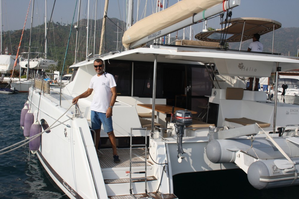 Location Catamaran à Marmaris - Fountaine Pajot Helia 44 Quatuor