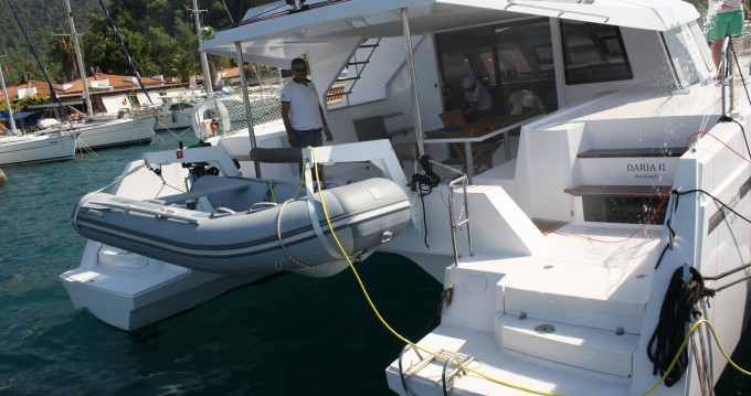 Location bateau Marmaris pas cher Nautitech 46 Fly