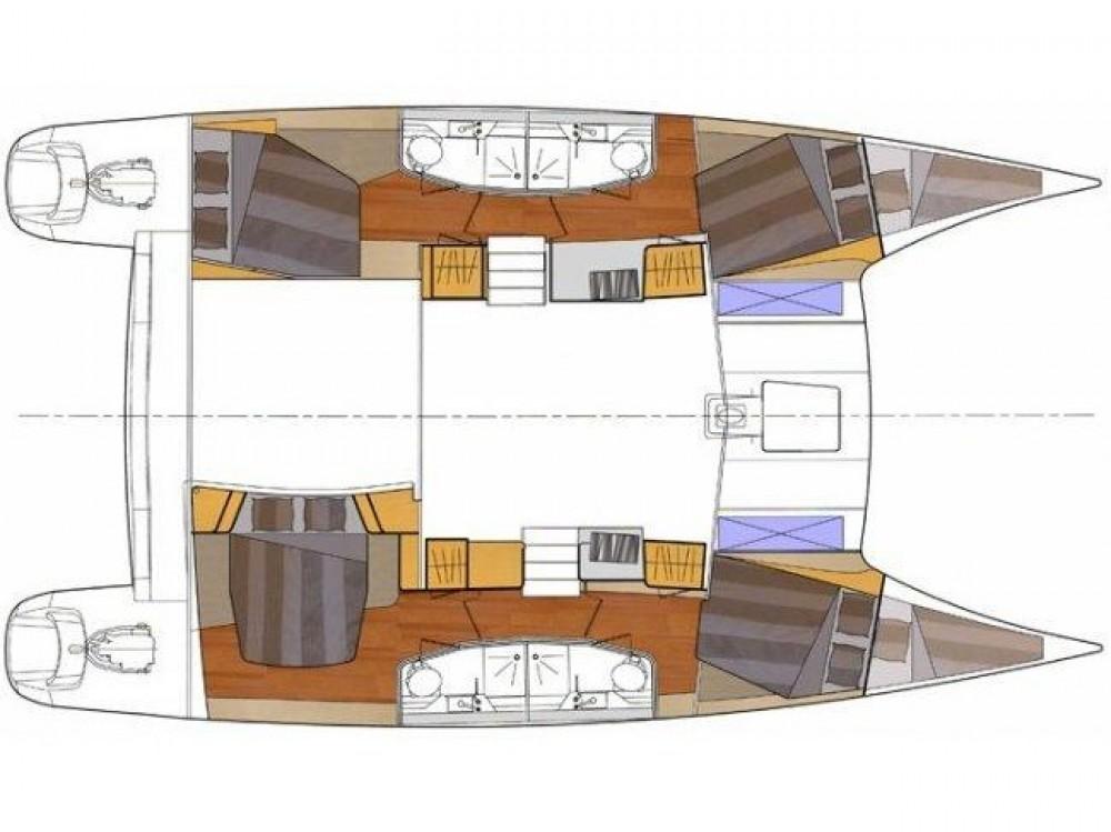 Location yacht à Marmaris - Fountaine Pajot Lipari 41 Quatuor sur SamBoat