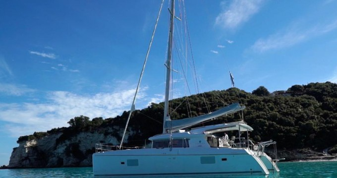 Location yacht à Lefkada (Île) - Lagoon Lagoon 421 sur SamBoat
