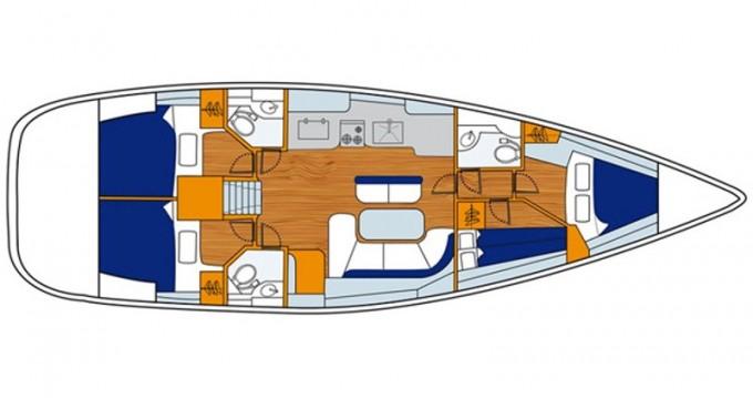 Location Voilier à Genoa - Bénéteau Oceanis 473