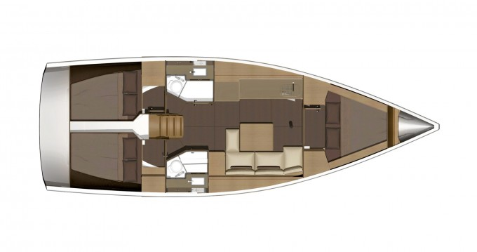 Location bateau Cagliari pas cher Dufour 382 GL
