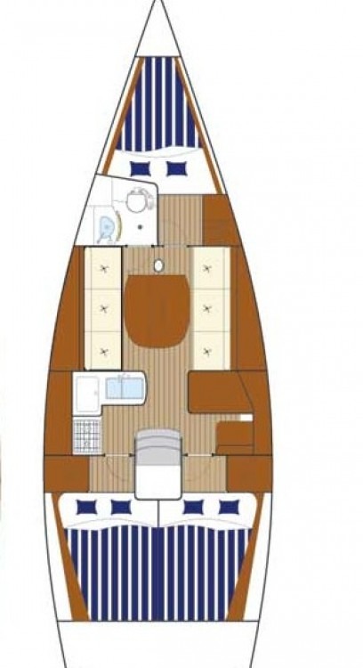 Location yacht à Nettuno - Bénéteau First 36.7 sur SamBoat
