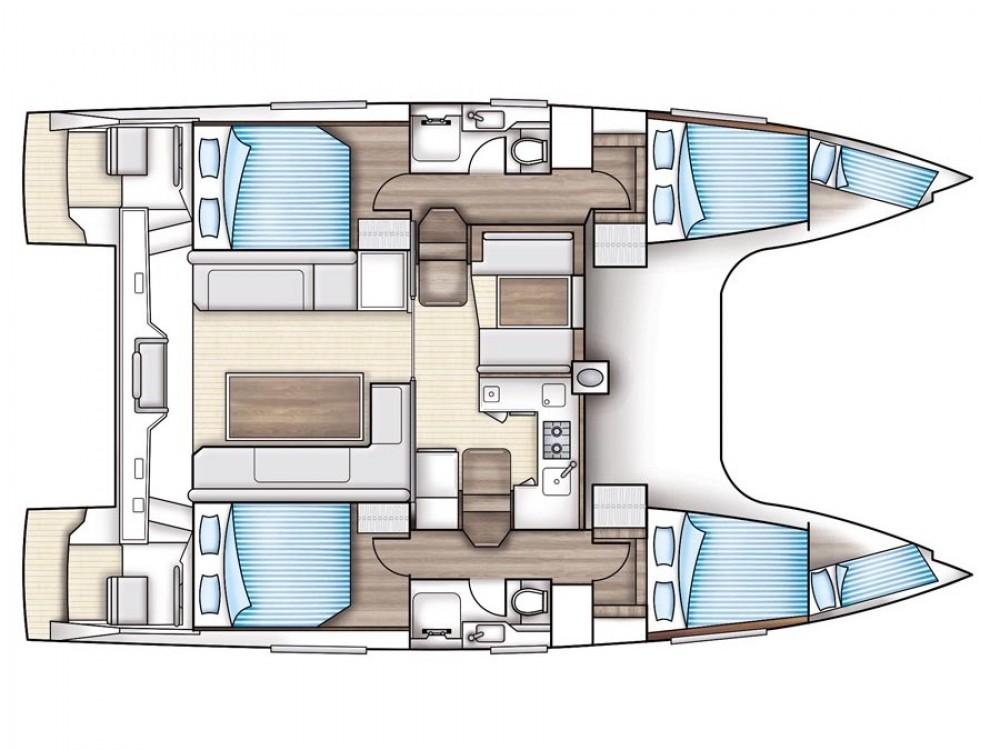 Louer Catamaran avec ou sans skipper Nautitech à Trogir