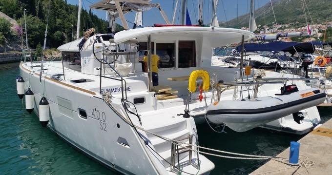 Location bateau Lagoon Lagoon 400 S2 à Dubrovnik sur Samboat