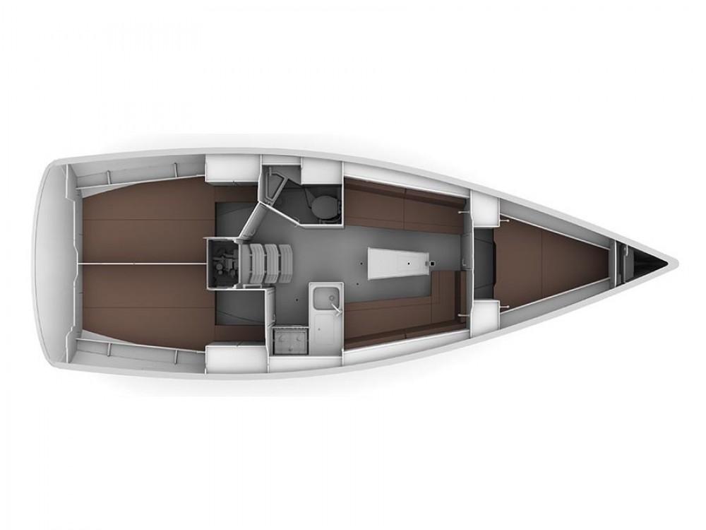 Location bateau Trogir pas cher Bavaria Cruiser 34