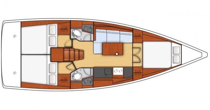 Location bateau Bénéteau Oceanis 38.1 à Dubrovnik sur Samboat