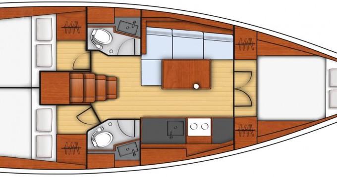 Bénéteau Oceanis 38.1 entre particuliers et professionnel à Dubrovnik