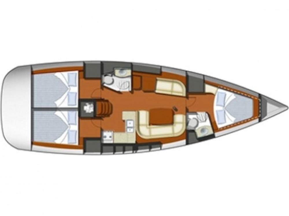Location bateau Jeanneau Sun Odyssey 42 i à Prévéza sur Samboat