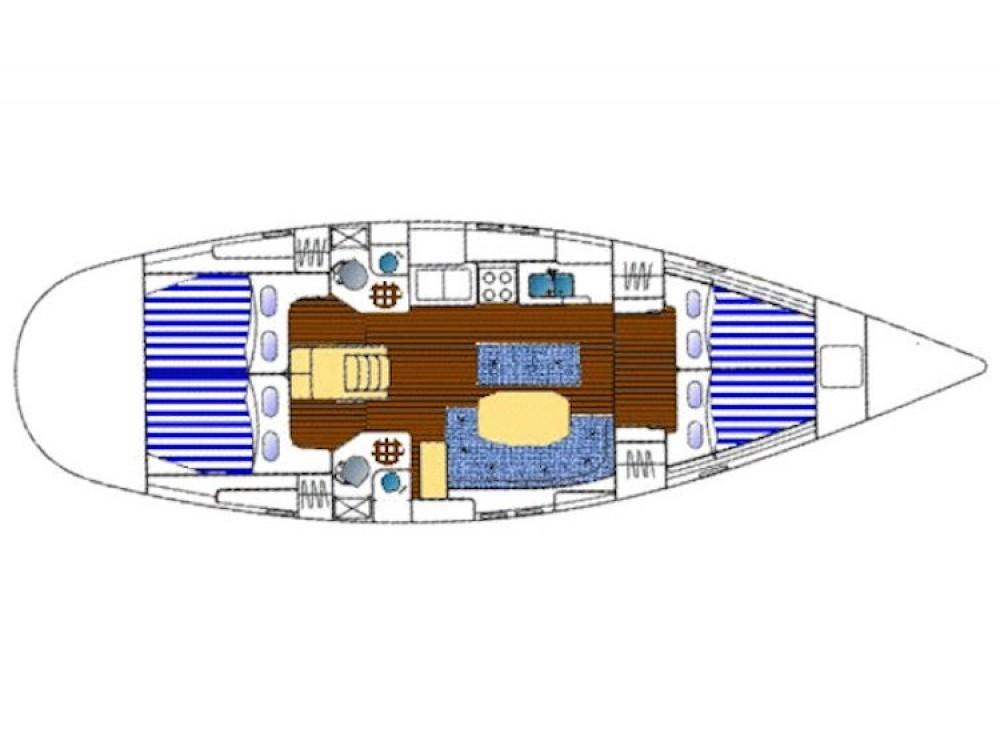 Location bateau Leucade pas cher Oceanis 461