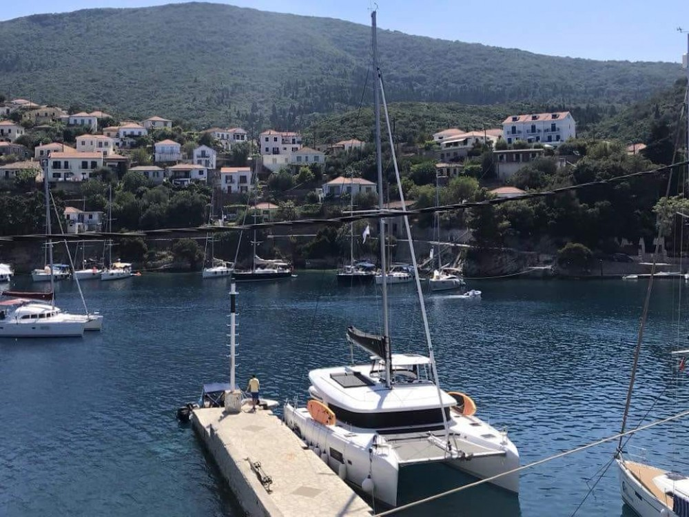 Location bateau Leucade pas cher Lagoon 42
