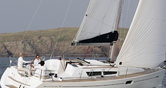 Location yacht à Gouviá - Jeanneau Sun Odyssey 36i sur SamBoat