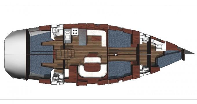 Location bateau Ocean Ocean Star 56.1 - 5 cabins à Athènes sur Samboat