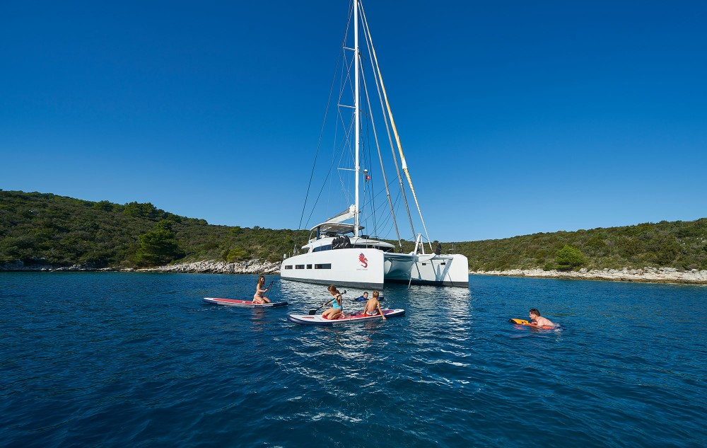 Location Catamaran à Kaštel Gomilica - Lagoon Lagoon Seventy 7