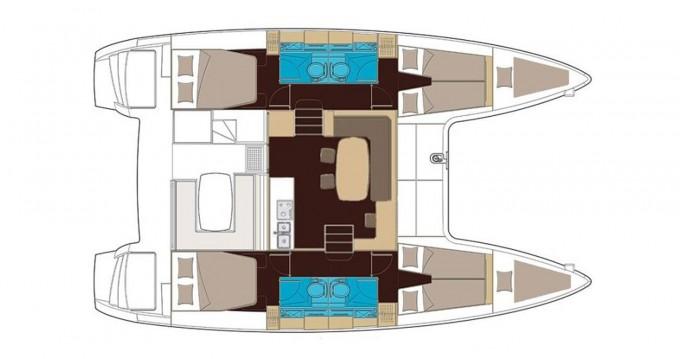 Location bateau Álimos pas cher Lagoon 400 S2