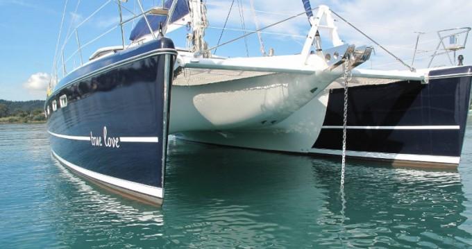 Location bateau Gouviá pas cher Privilege 495