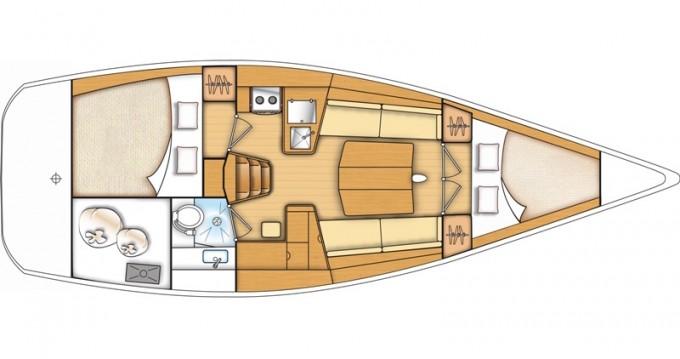 Location bateau Kaštel Gomilica pas cher First 35