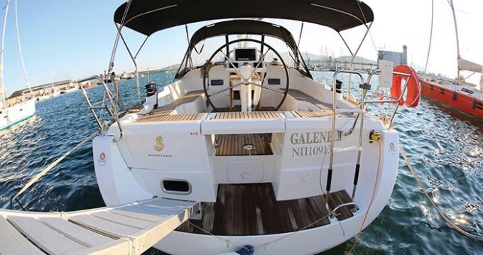 Location bateau Skópelos pas cher Oceanis 37