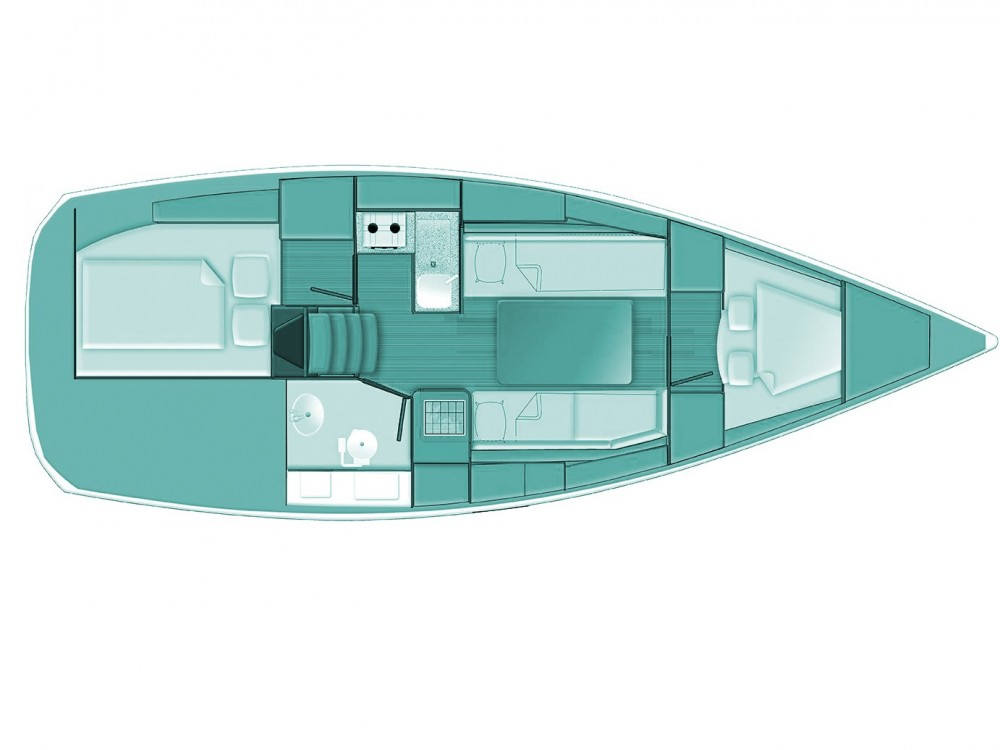 Location bateau Volos pas cher Sun Odyssey 319
