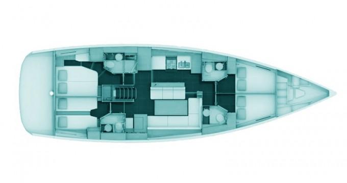 Location bateau Jeanneau Jeanneau 54 à Volos sur Samboat