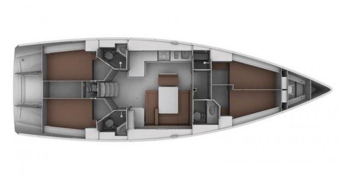 Location yacht à Gouviá - Bavaria Bavaria 45 Cruiser sur SamBoat