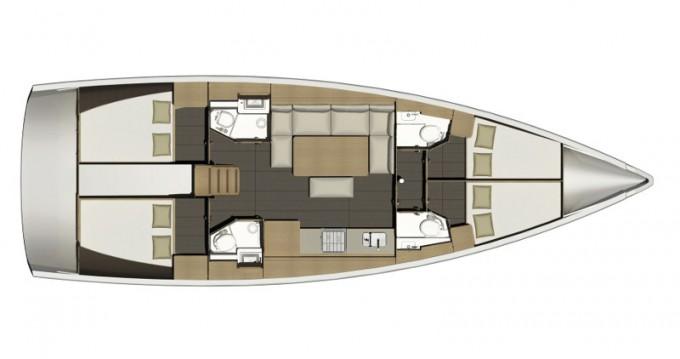 Location yacht à Porto di Balestrate - Dufour Dufour 460 Grand Large Aquilo 2016 sur SamBoat