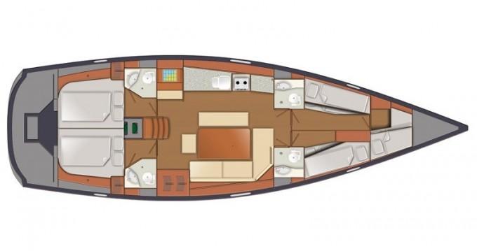 Location bateau Tromso pas cher Delphia 47