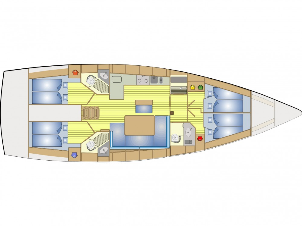 Location bateau Norvège pas cher Bavaria 46 Cruiser