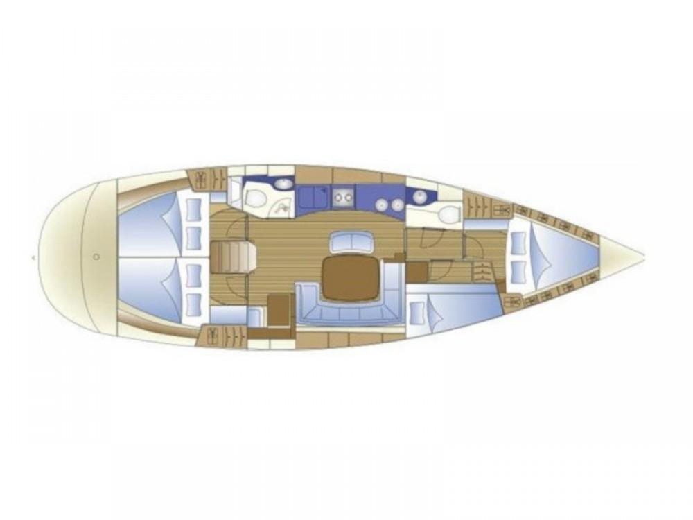 Location bateau Bavaria Bavaria 44 à Murter sur Samboat
