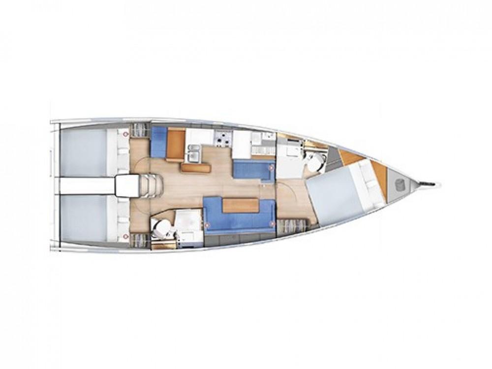 Louez un Jeanneau Sun Odyssey 410 à Leucade