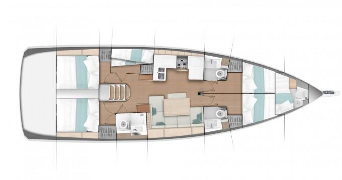 Location bateau Jeanneau Sun Odyssey 490 à Álimos sur Samboat