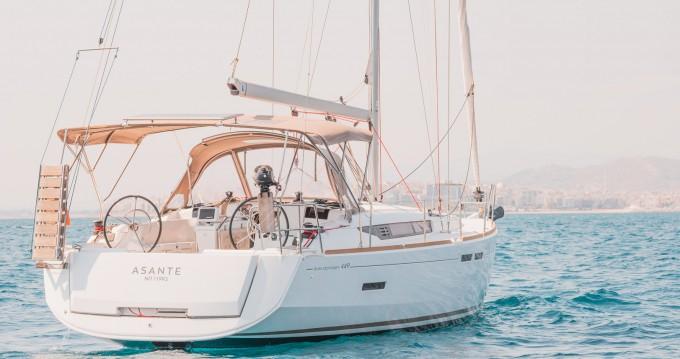 Location yacht à Lefkada (Île) - Jeanneau Sun Odyssey 449 sur SamBoat