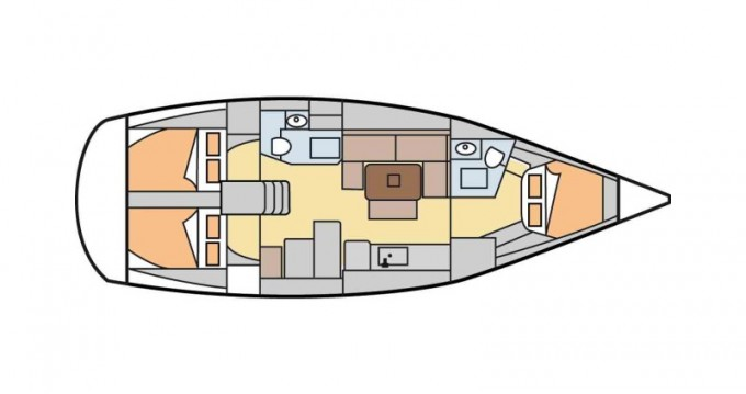 Louer Voilier avec ou sans skipper Dufour à Gouviá